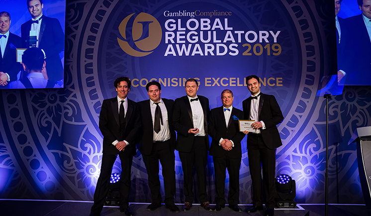 gamban at the global regulatory awards 2019